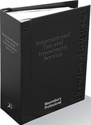 Cover of International Tax and Investment Service Looseleaf