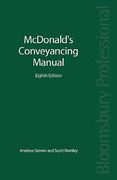 Cover of McDonald's Conveyancing Manual