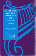 Cover of Casebook on the Irish Law of Torts