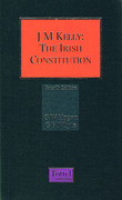 Cover of J.M. Kelly: The Irish Constitution