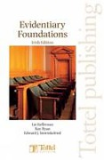 Cover of Evidentiary Foundations