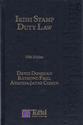 Cover of Irish Stamp Duty Law