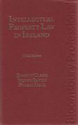 Cover of Intellectual Property Law in Ireland
