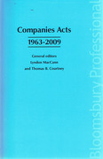 Cover of Companies Acts 1963 - 2009