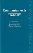 Cover of Companies Acts 1963 - 2012