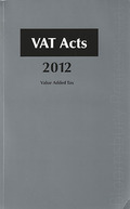 Cover of VAT Acts 2012