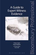 Cover of Guide to Expert Witness Evidence