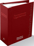 Cover of Accountants Legal Service Looseleaf