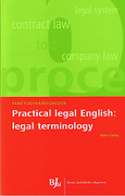 Cover of Practical Legal English: Legal Terminology