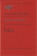 Cover of Inns of Court: Records of Early English Drama
