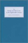 Cover of The British and their Laws in the Eighteenth Century