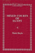 Cover of Mixed Courts of Egypt