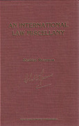 Cover of An International Law Miscellany