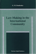 Cover of Law-Making in the International Community