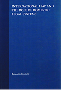 Cover of International Law and the Role of Domestic Legal Systems