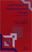 Cover of Legal Reform in Post-communist Europe