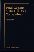 Cover of Penal Aspects of the UN Drug Conventions