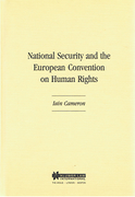 Cover of National Security and the European Convention on Human Rights