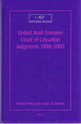 Cover of United Arab Emirates Court of Cassation Judgements:  1998-2003