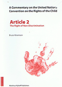 Cover of A Commentary on the United Nations Convention on the Rights of the Child
