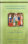 Cover of Contracts for a Third-Party Beneficiary. A historical and Comparative Account