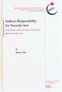 Cover of Indirect Responsibility for Terrorist Acts: Redefinition of the Concept of Terrorism Beyond Violent Acts