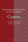 Cover of Annotated Legal Documents on Islam in Europe: Cyprus