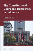 Cover of The Constitutional Court and Democracy in Indonesia