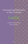 Cover of Annotated Legal Documents on Islam in Europe: Latvia