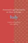 Cover of Annotated Legal Documents on Islam in Europe: Italy
