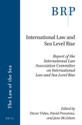 Cover of International Law and Sea Level Rise: Report of the International Law Association Committee on International Law and Sea Level Rise