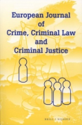 Cover of European Journal of Crime, Criminal Law and Criminal Justice: Print + Online