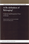 Cover of Re-definition of Belonging? Language and Integration Tests in Europe