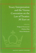 Cover of Treaty Interpretation and the Vienna Convention on the Law of Treaties: 30 Years on