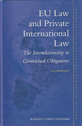 Cover of EU Law and Private International Law: The Interrelationship in Contractual Obligations