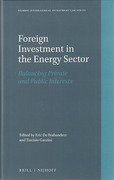 Cover of Foreign Investment in the Energy Sector: Balancing Private and Public Interests