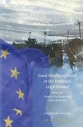 Cover of Good Neighbourliness in the European Legal Context