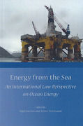 Cover of Energy from the Sea: An International Law Perspective on Ocean Energy