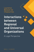 Cover of Interactions between Regional and Universal Organizations
