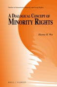 Cover of A Dialogical Concept of Minority Rights