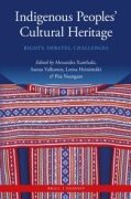 Cover of Indigenous Peoples' Cultural Heritage: Rights, Debates, Challenges