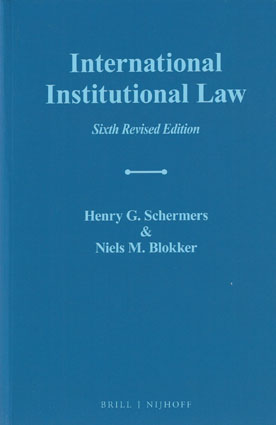what is institutional law