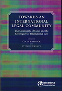 Cover of Towards an International Legal Community