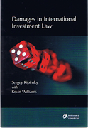 Cover of Damages in International Investment Law