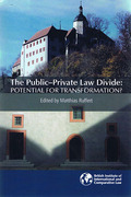 Cover of The Public-Private Law Divide: Potential for Transformation?