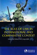 Cover of The Rule of Law in International and Comparative Context