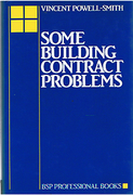 Cover of Some Building Contract Problems