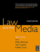 Cover of Law and the Media