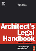 Cover of Architect's Legal Handbook