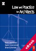Cover of Law and Practice for Architects (eBook)